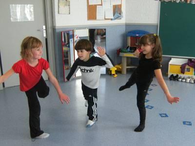 Expressión corporal para niños