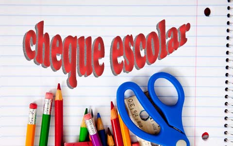 cheque escolar 2017/2018